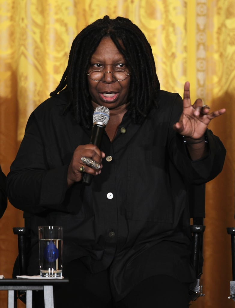 Whoopi Goldberg shared stories from her experience in Hollywood.