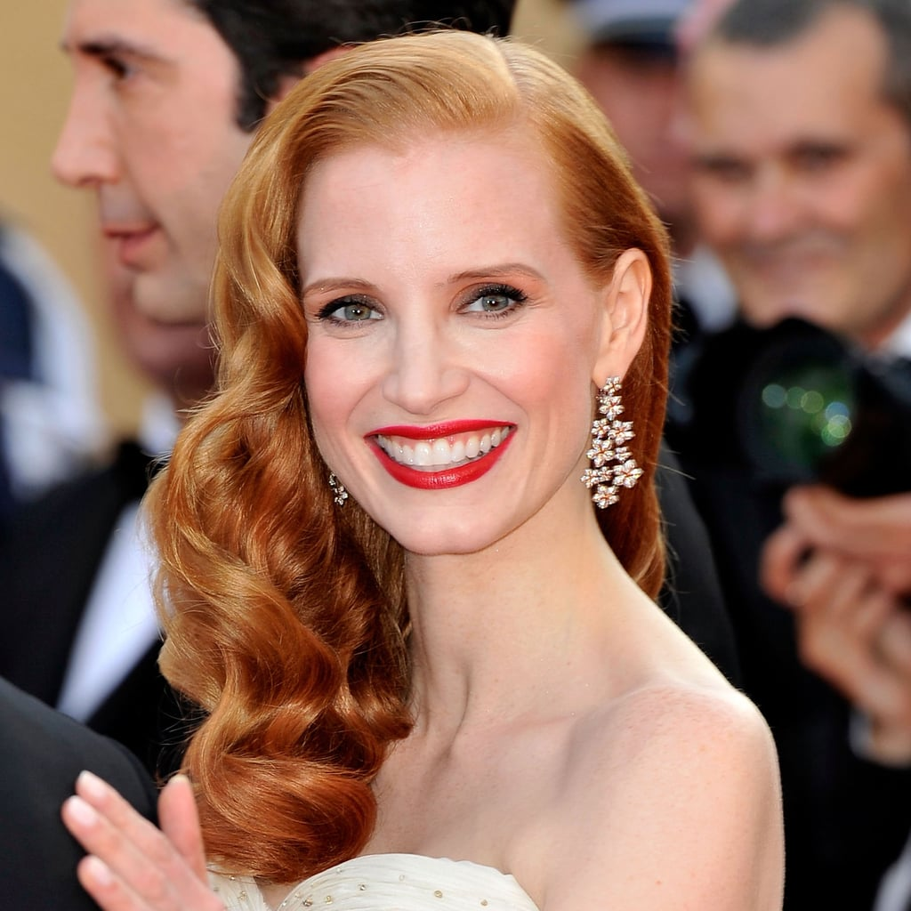 Jessica Chastain at the Madagascar 3 Premiere