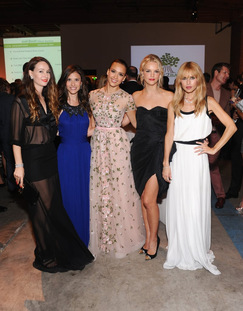 Jessica Alba, Rachel Zoe, Julie Bowen, and more got together for the Baby2Baby gala.