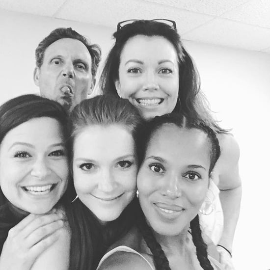 "The Cast Of ""Scandal"" Shared Adorable Photos From Their First Table Read Of The Season"