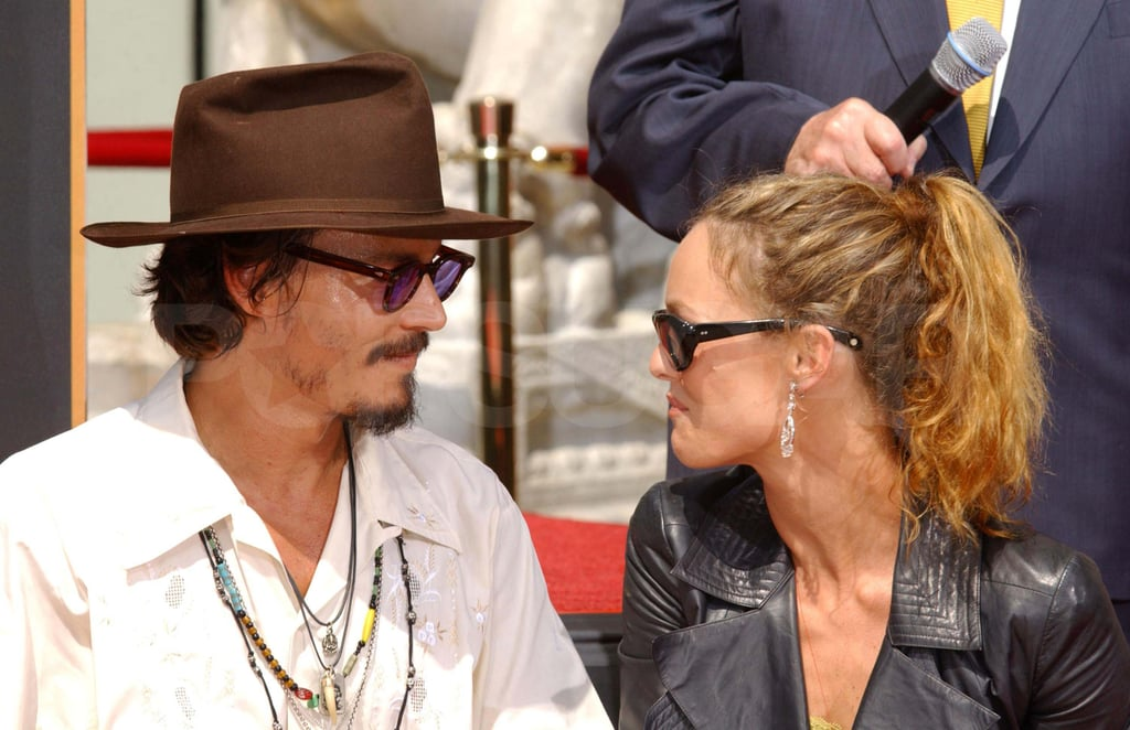 Johnny and Vanessa had the look of love during a 2005 event in LA.