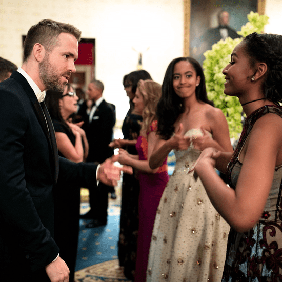 Sasha Obama Talking to Ryan Reynolds at State Dinner 2016
