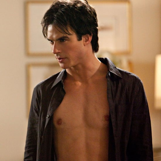 Ian Somerhalder Gets Naked For The Vampire Diaries Promo