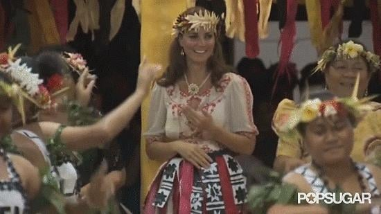 And Kate Middleton Can Dance . . . Sorta