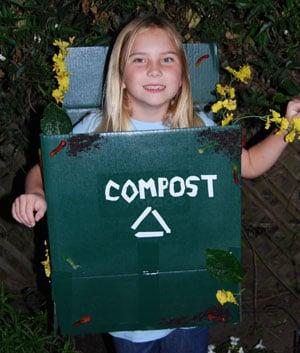 Compost Bin for Costume