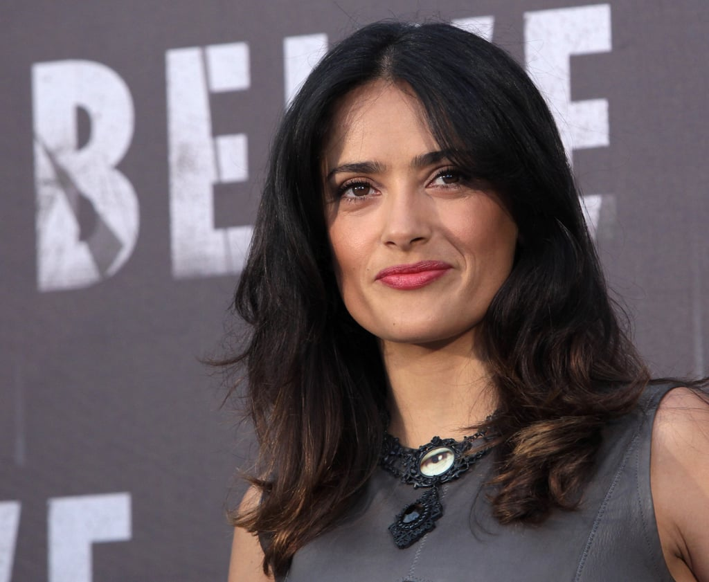 Salma Hayek Takes Savages to Rome and Talks Marriage
