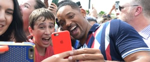 These Photos of the Suicide Squad Cast Hanging With Fans Make Being Bad Look Oh So Good