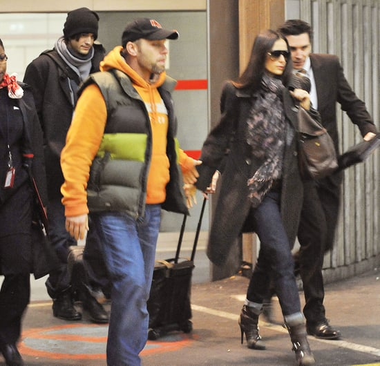 Pictures of Ashton Kutcher and Demi Moore in France Ahead of No Strings Attached Promo in London