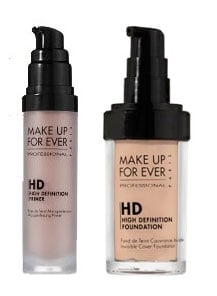 Wednesday Giveaway! Make Up For Ever HD Microfinish Primer and Foundation