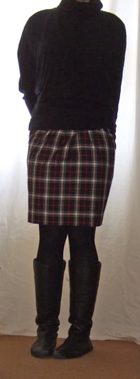 Style for Style: How to Wear Tartan Skirt