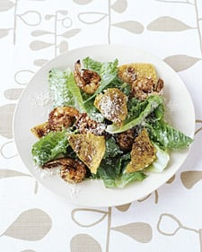 Spicy Shrimp Caesar Salad