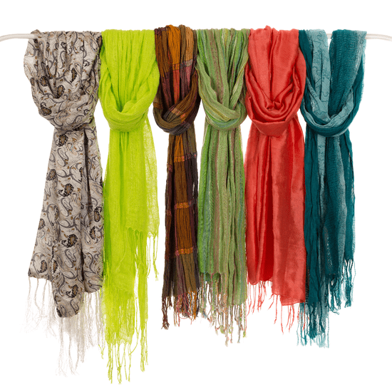 14 Ways to Pull Your Scarves Out of Hiding and Put Them on Display
