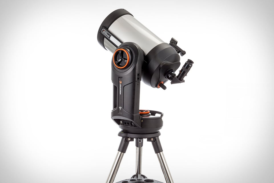 For star-gazing dads, the NexStar Evolution 8 Telescope ($1,600) is the ultimate gift. The optical tube is eight inches wide and works with iOS and Android apps to find stars, constellations, and planets.