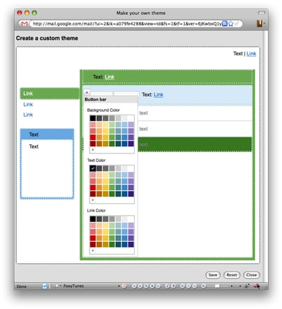 You Can Pick Your Own Colors in Gmail Themes