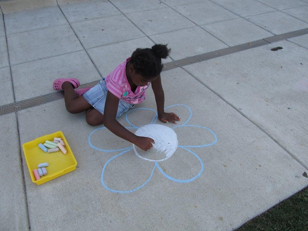 Host a Sidewalk Art Show