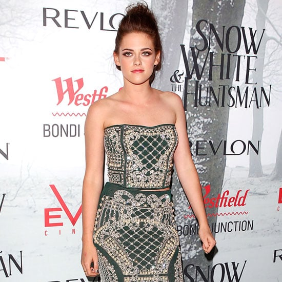 Kristen Stewart Goes Exotic at the Snow White and the Huntsman Premiere
