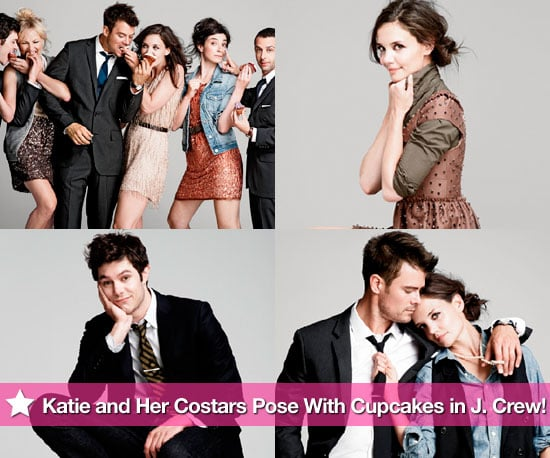 Pictures of Katie Holmes, Josh Duhamel, Adam Brody, and The Romantics Cast Posing For J.Crew 2010-08-19 12:30:00