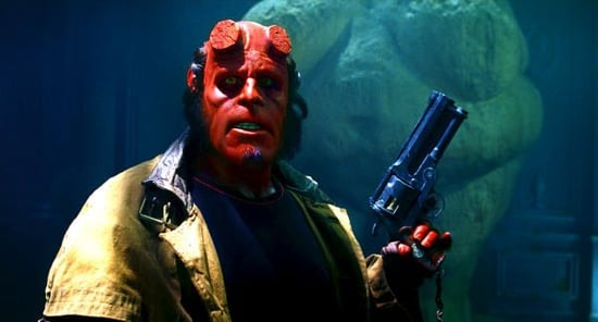 Hellboy Meets Chuck, James Lipton in New Promos