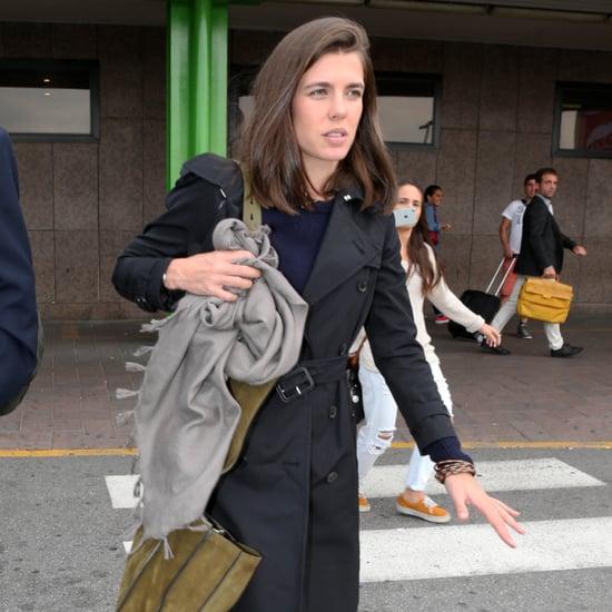 Charlotte Casiraghi of Monaco in Milan September 2015