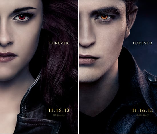 See Edward, Bella and Jacob in Breaking Dawn Part 2 Posters
