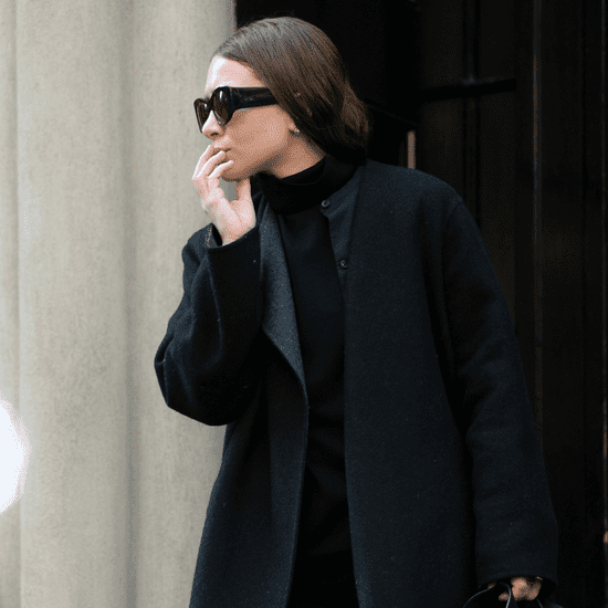 Ashley Olsen's All-Black Outfit March 2016