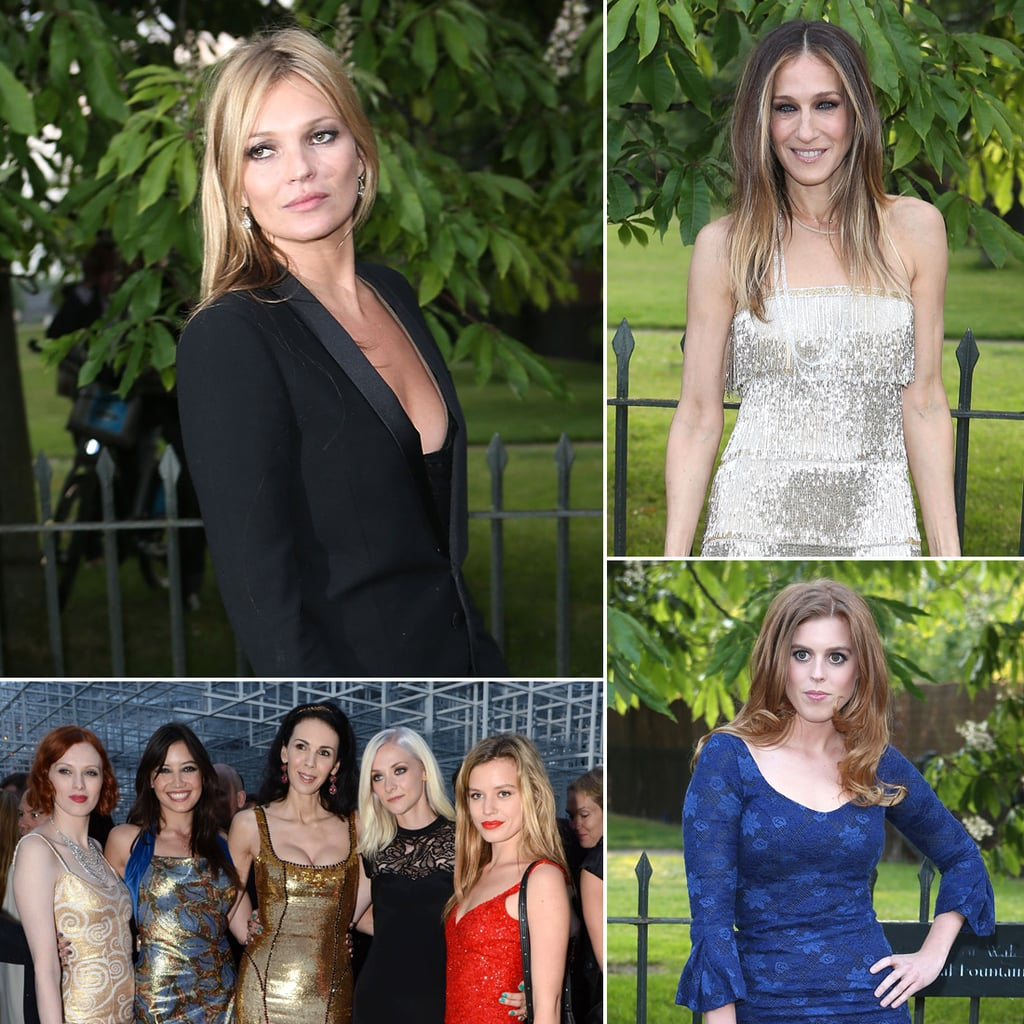 Serpentine's Summer Party Brings Out a Mixed Bag of Celebs