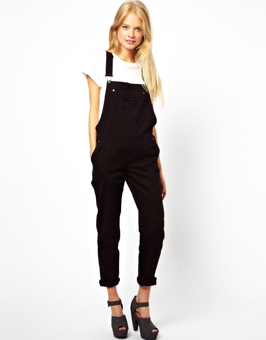 ASOS black overalls ($85)