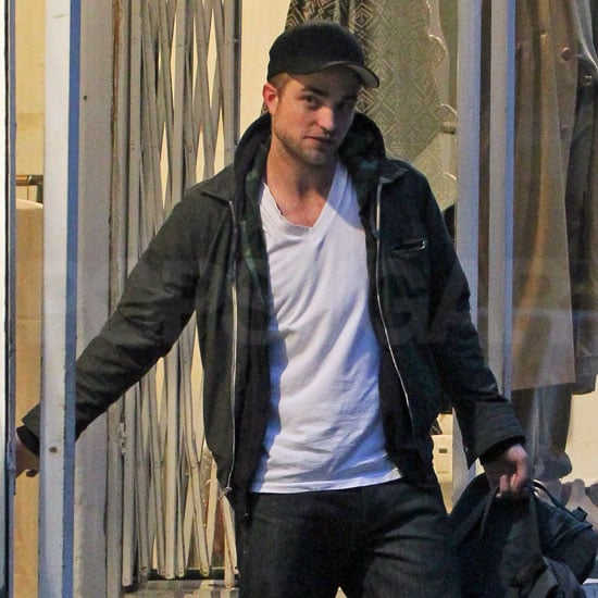Robert Pattinson Shopping in NYC Pictures