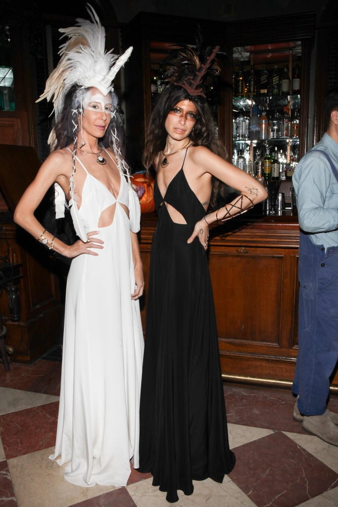 Mara Hoffman and Pamela Love went to the dark and light side for their Jane Hotel Halloween bash.