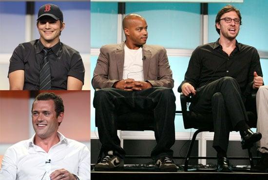 Photos of Ashton Kutcher, Zach Braff, Donald Faison, Sarah Chalke, and More at ABC TCA Presentation