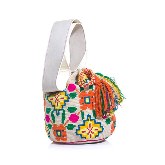 I'm going to pretend I'm headed to Barcelona and will roam the streets eating, drinking and shopping my way through town with this gorgeous bohemian bucket bag. I can't wait to ditch my leather bag for something fun and colourful come Summer!— Marisa, publisher Bag, approx $435, Sophia Anderson at Matches