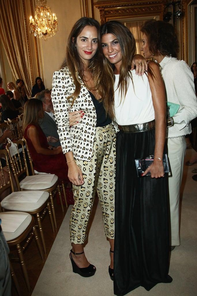 Alexia Niedzelski and Bianca Brandolini D'Adda