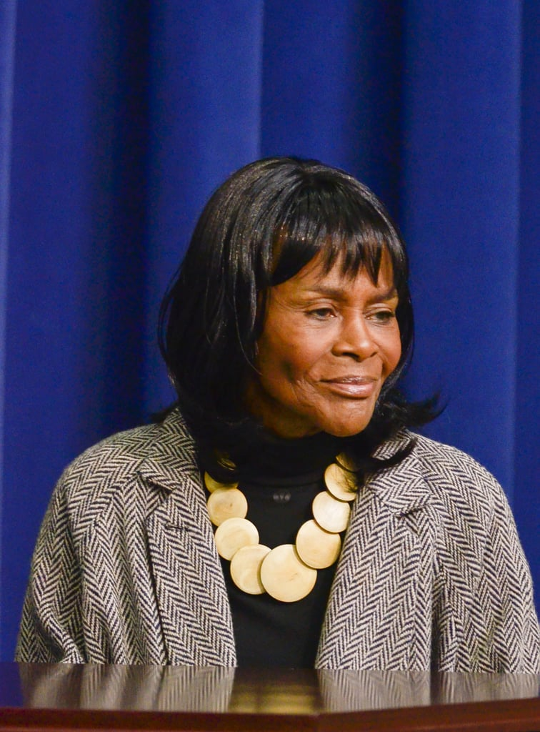 Actress Cicely Tyson attended the White House screening of her film.