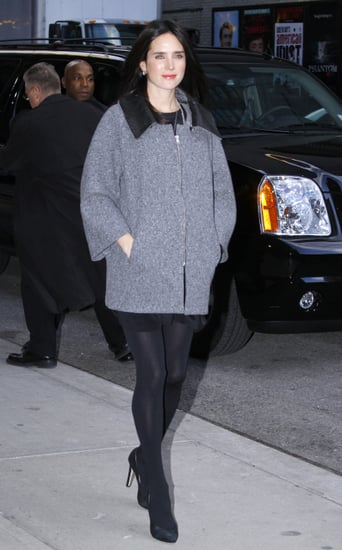 Pictures of Jennifer Connelly Pregnant at The Late Show