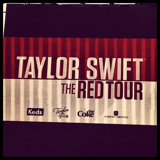 She's a Taylor Swift fan.