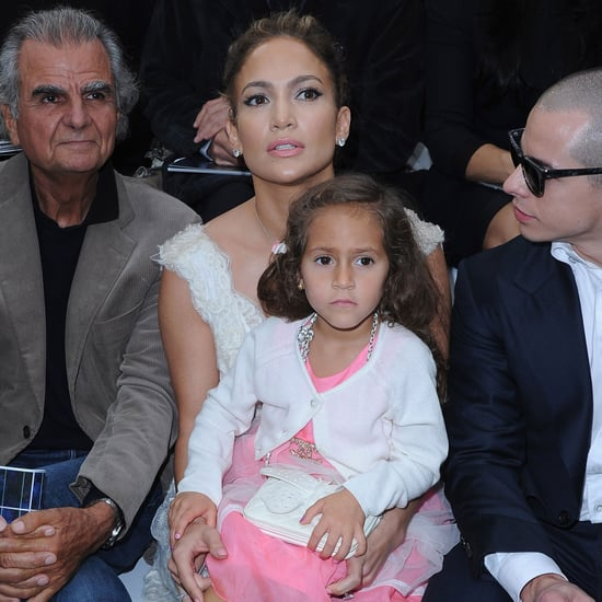 Jennifer Lopez and Daughter Emme at Chanel Fashion Show