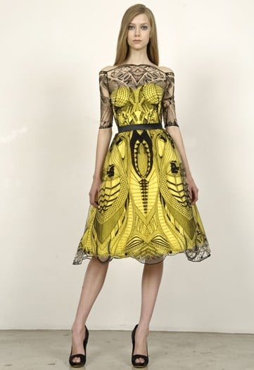 Alexander McQueen Sticks with His Staples for Cruise 2010