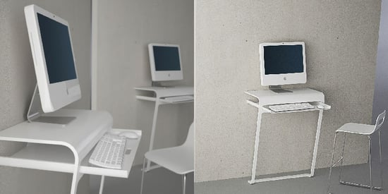 Minimalist Computer Desk From DesignSpray