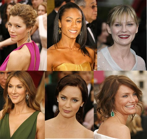 Oscars Red Carpet Beauty: Barely There Makeup