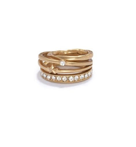 What's better than this stack of Rachel Roy rings ($32)? Some for her, some for you — it means you're forever linked with great jewelry.
