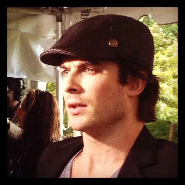 We got up close and personal with Ian Somerhalder at the Artists For Peace and Justice Luncheon in September during this year's Toronto International Film Festival.