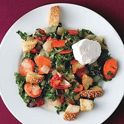 Easy Roasted Vegetable Salad Recipe