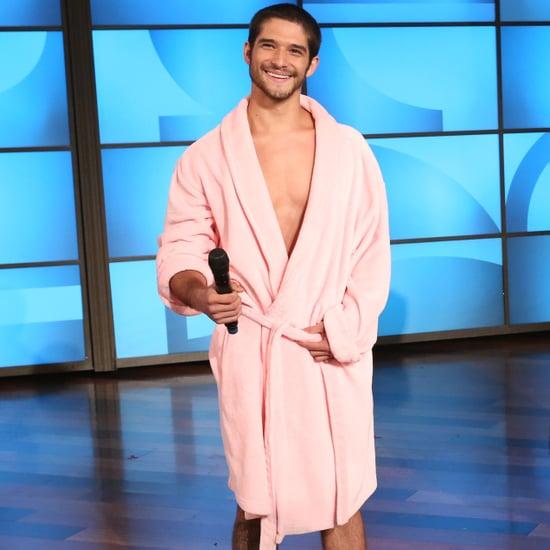 Tyler Posey in His Underwear on The Ellen DeGeneres Show