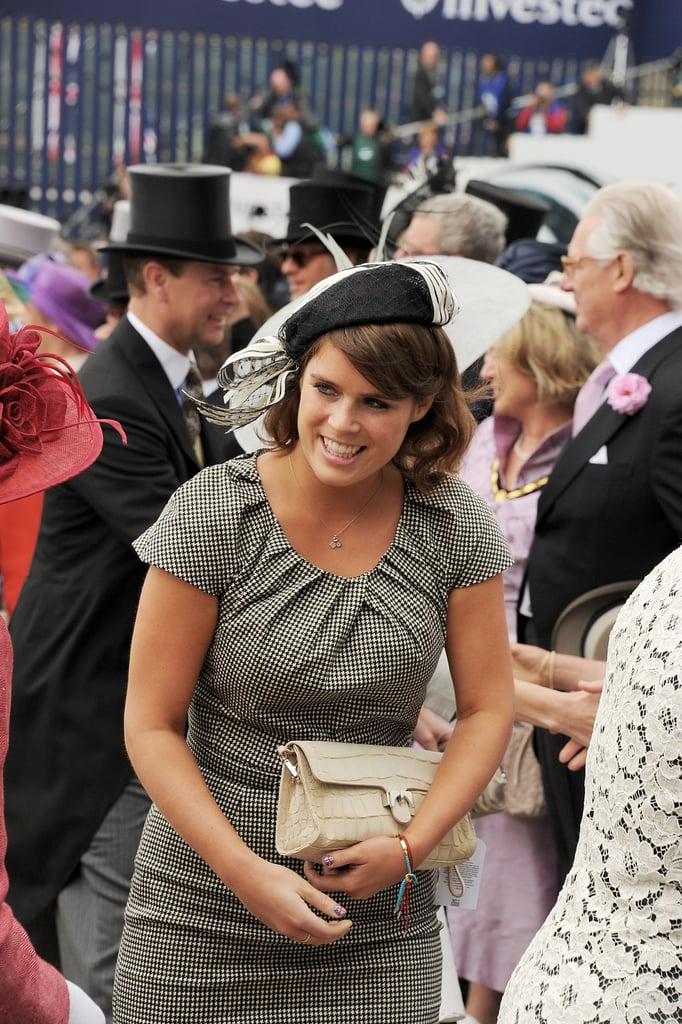 Princess Eugenie enjoyed herself.