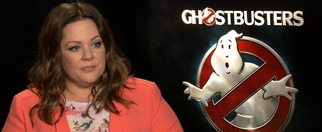 Watch Melissa McCarthy Expertly Shut Down Sexist Ghostbusters Haters in Just 60 Seconds