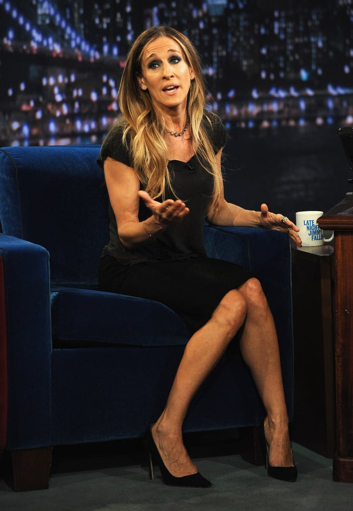 Sarah Jessica Parker was on Late Night With Jimmy Fallon.