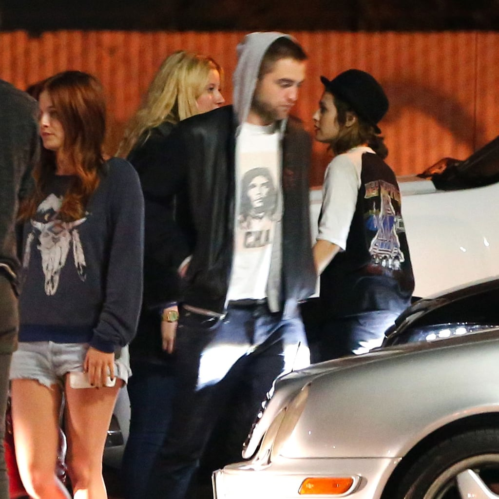 Birthday Girl Kristen Stewart Celebrates Late Night With Rob and Friends