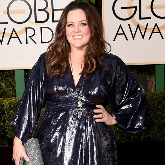 Melissa McCarthy's Dress at the Golden Globes 2016