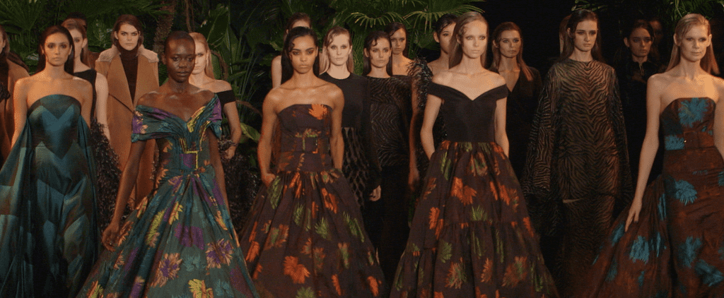 Christian Siriano Takes Us Into the Jungle For Autumn 2015
