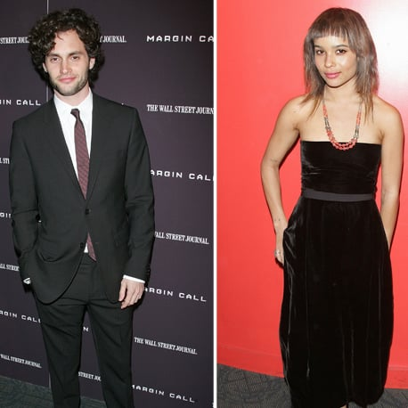 Penn Badgley and Zoe Kravitz Margin Call Premiere Pictures